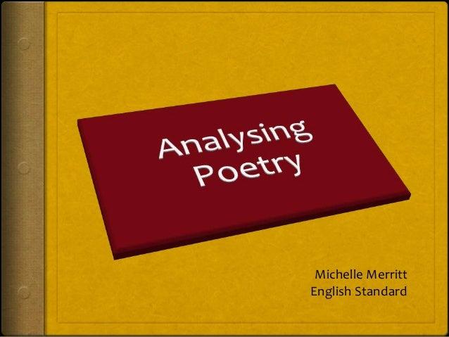 Michelle Merritt English Standard
