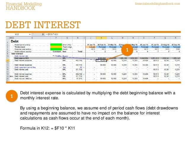 6 debt interest