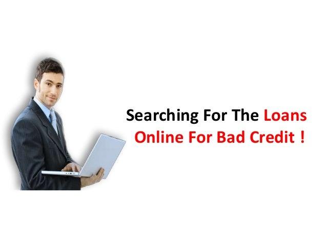 Loans Online for Bad Credit - 웹