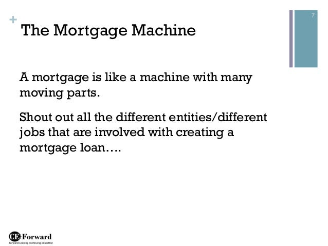 Residential Mortgage Loan Processing Class