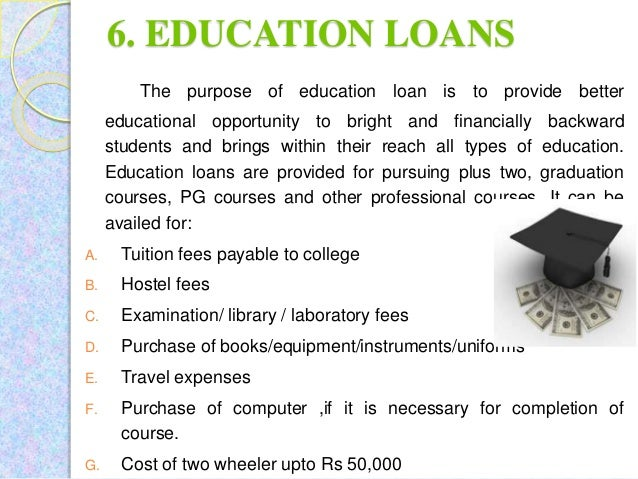 types of loans for college Different types of loan and credit student loans student loans are offered to college students consolidating credit card debt, paying off student loans and.