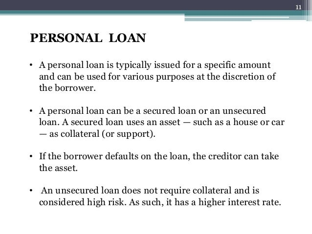 unsecured cash loan