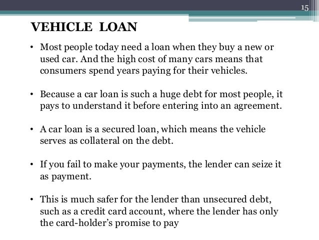 Financed Car Definition >> Loans And Types