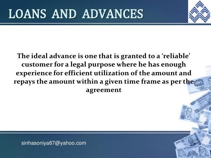 loans and advances management 4 728