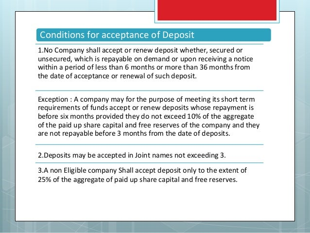 Loans Under New Companies Act 2013