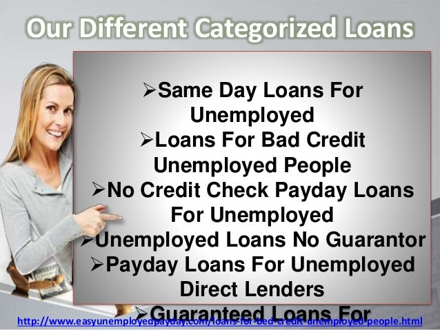 payday loans for bad credit unemployed people 8 638