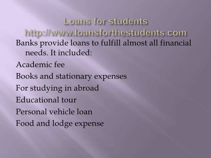 Loans For Students - 웹