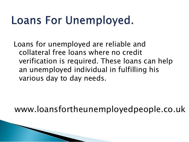 loans today for unemployed - 2