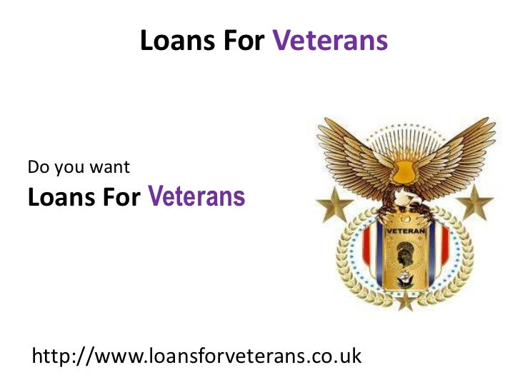 Loans For Veterans With Bad Credit >> Loans For Veterans Same Day Cash Loans Bad Credit Business