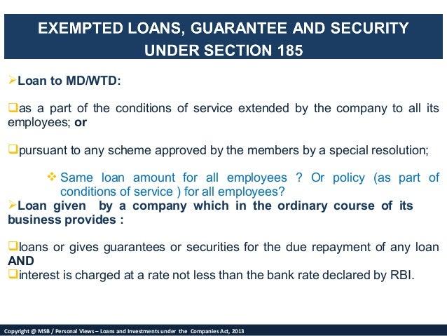 Loan Deemed Definition