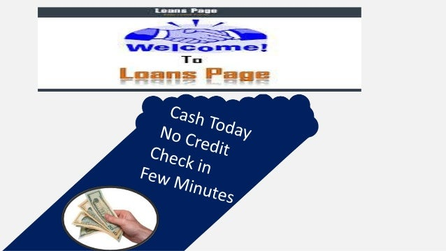Get Payday Loans No Credit Check, No Paper Work Bad credit status doesn't matter in today's time financial market . Now pe...