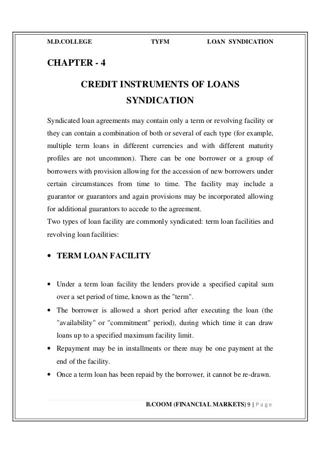 syndicated loan agreement Syndicated loan agreement for amkor technology inc, chinatrust commercial bank co, ltd, ta chong commercial bank co, ltd - sample agreements, legal documents, and contracts from realdealdocs.