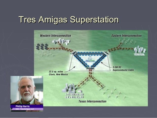 Tres Amigas Superstation