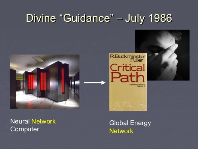 "Divine ""Guidance"" – July 1986Neural Network      Global EnergyComputer            Network"