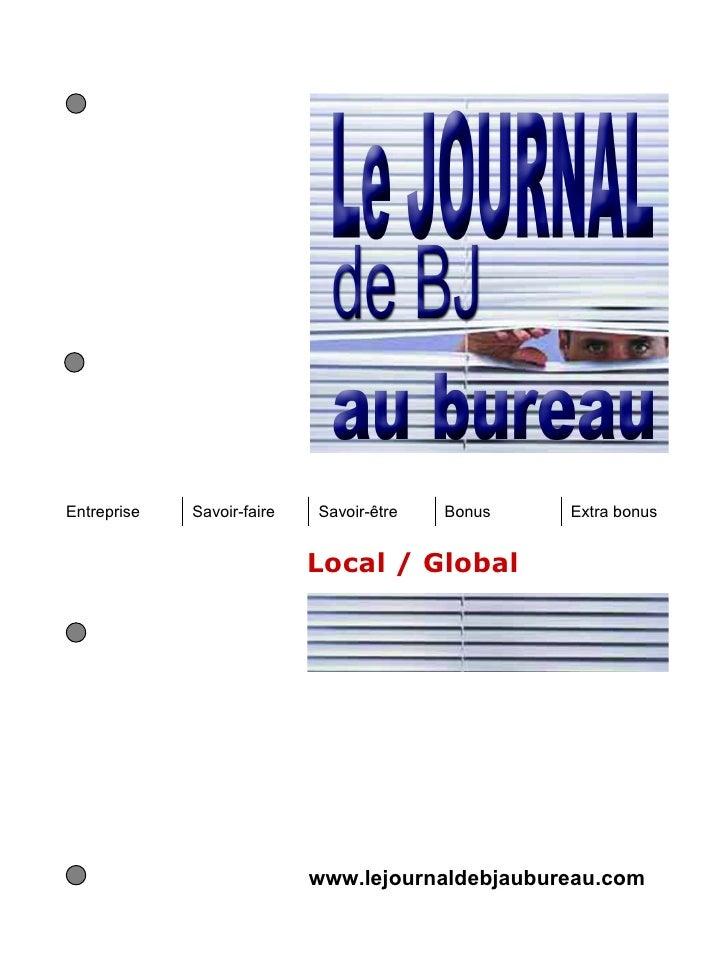 Entreprise   Savoir-faire   Savoir-être   Bonus   Extra bonus                            Local / Global                   ...