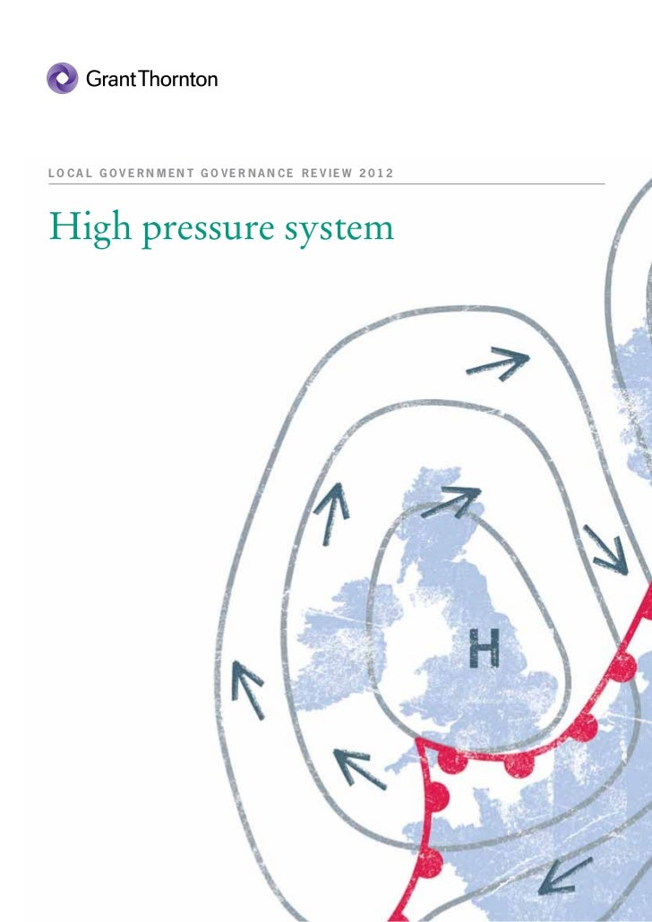LOCAL GOVERNMENT GOVERNANCE REVIEW 2012High pressure system