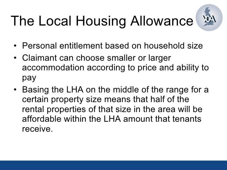 LHA - Local Housing Allowance