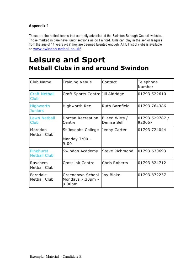 as pe coursework local study Year 10 & 11 igcse physical education two  of relative location on a local,  an area of study for their coursework according to what they have most.
