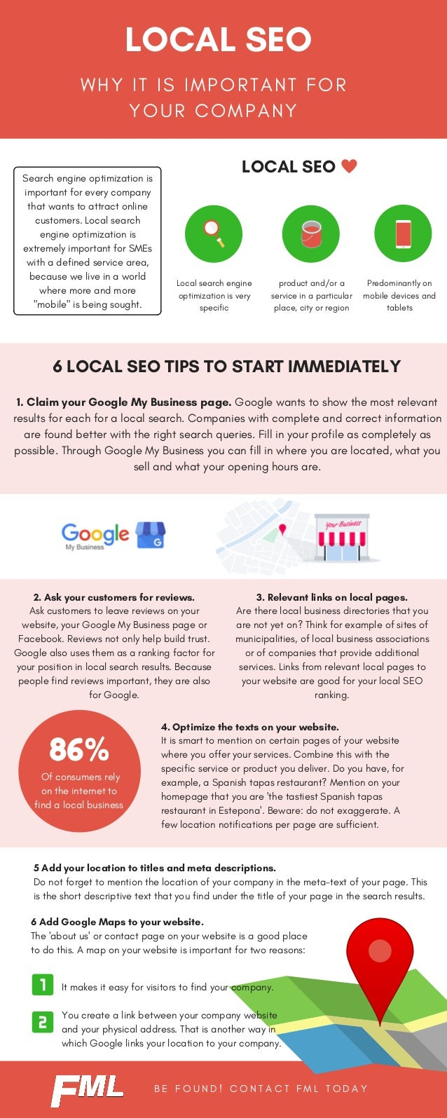 W H Y I T I S I M P O R T A N T F O R Y O U R C O M P A N Y LOCAL SEO LOCAL SEO 6 LOCAL SEO TIPS TO START IMMEDIATELY 5 Ad...