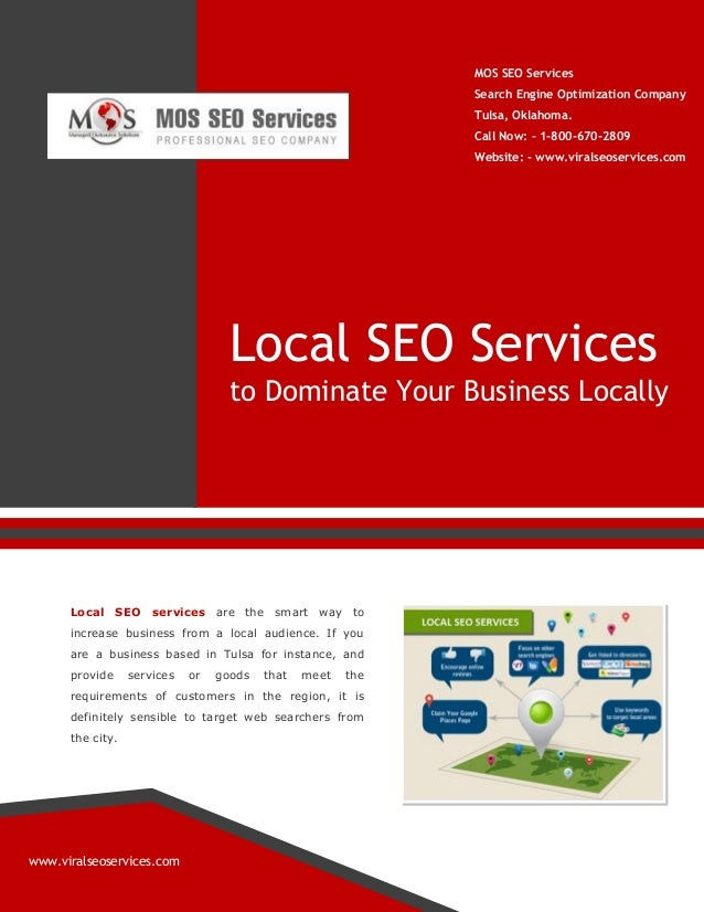 MOS SEO Services Search Engine Optimization Company Tulsa, Oklahoma. Call Now: - 1-800-670-2809 Website: - www.viralseoser...