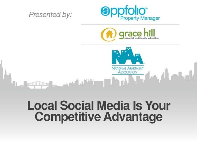Local Social Media Is Your Competitive Advantage