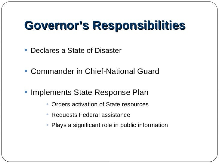 the disaster response of the local state and federal government  of state, local and tribal officials that will advise the federal government   federal government – led by the federal emergency management.