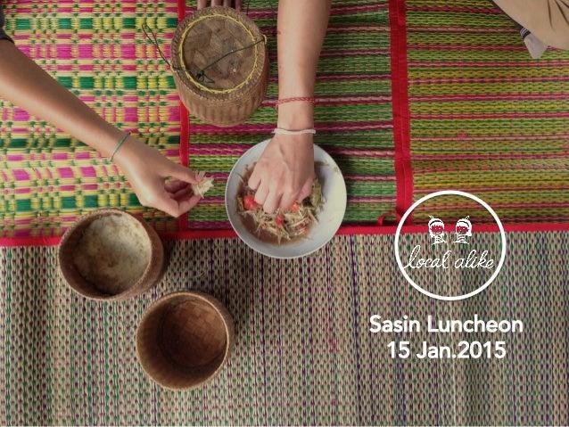 Sasin Luncheon 15 Jan.2015