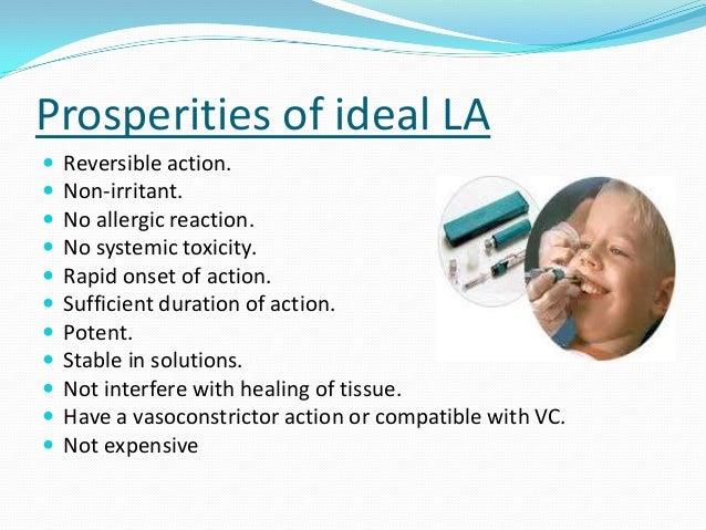 Local anaesthesia Slide 3