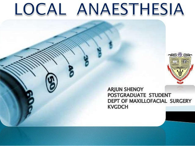 local anaesthesia #10