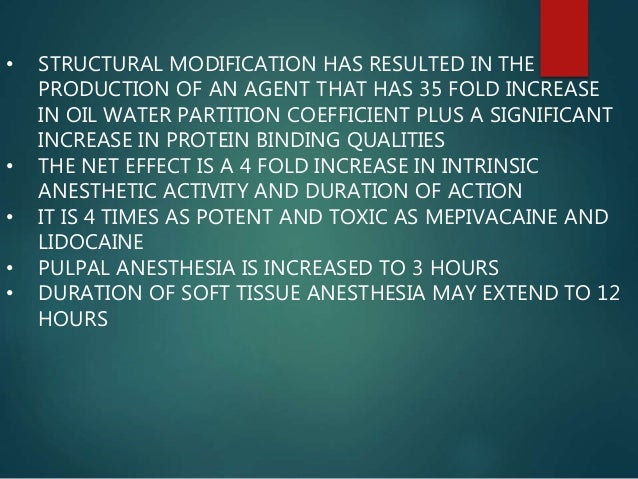 • A PERIOD OF ANELGESIA PERSISTS AFTER THE RETURN OF OTHER SENSATIONS, HENCE THE NEED OF ANALGESIC DRUG IS REDUCED OR ELIM...