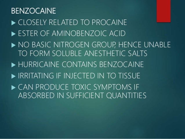LIDOCAINE  AVAILABLE IN TWO FORMS: LIDOCAINE BASE LIDOCAINE HYDROCHLORIDE  LIDOCAINE BASE  INSOLUBLE IN WATER  5% CONC...