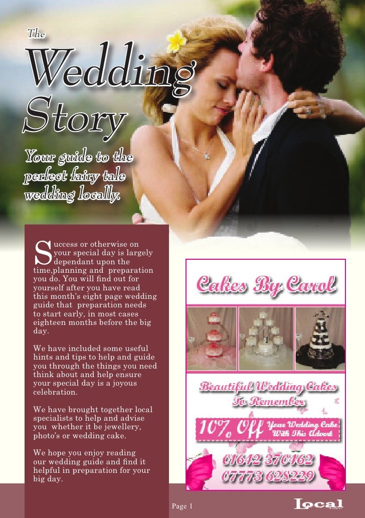 TheWeddingStoryYour guide to theperfect fairy talewedding locally. S       uccess or otherwise on       your special day i...