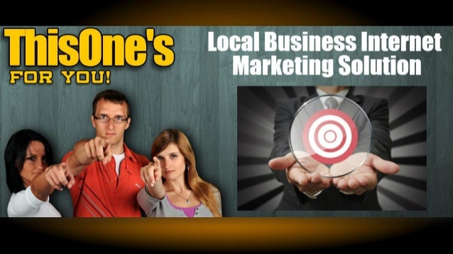 Local Business Internet Marketing Are you OVERWHELMED with ALL the Options?