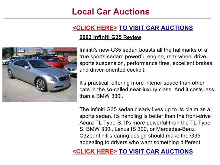 Local Car Auctions >> Local Car Auctions