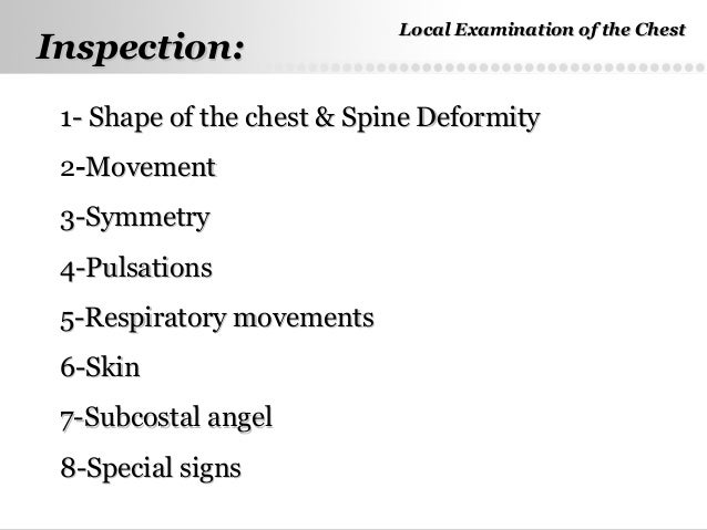 the chest examination Cpt codes - 71010, 71020 - 71035 - chest x ray procedure code and description 71010 - radiologic examination, chest single view, frontal - fee amount $20.