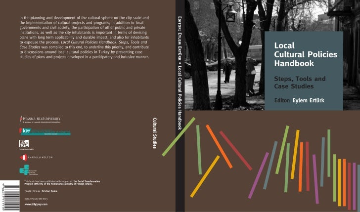LOCAL CULTURAL POLICIES HANDBOOK  STEPS, TOOLS AND CASE STUDIES