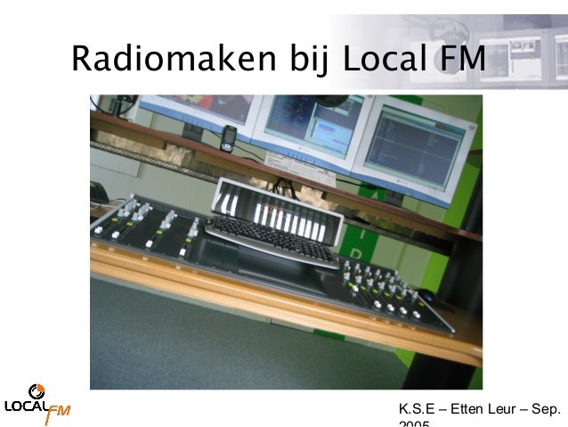 K.S.E – Etten Leur – Sep. Radiomaken bij Local FM