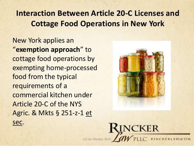 Alabama Cottage Food Law
