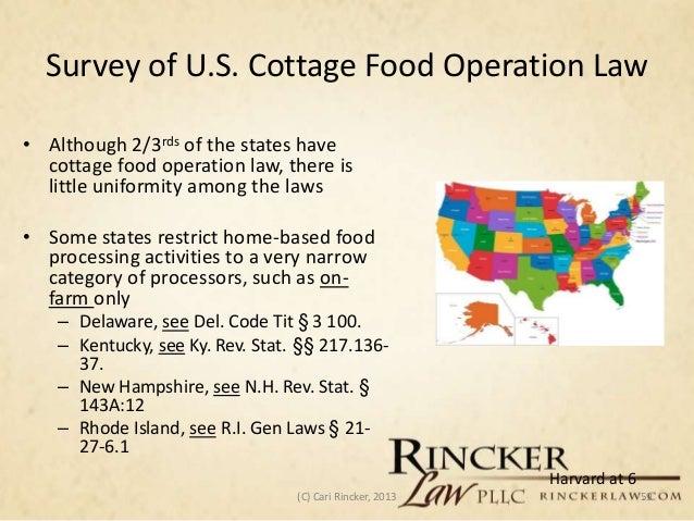 Ohio Cottage Food Law