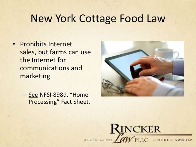 Ohio Cottage Food Law