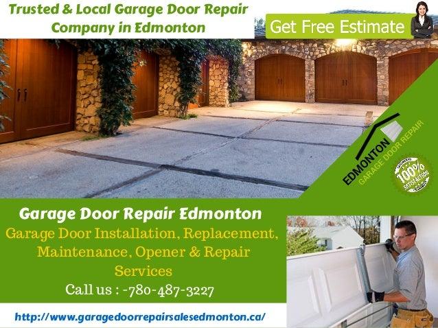 Trusted U0026 Local Garage Door Repair Company In Edmonton  Http://www.garagedoorrepairsalesedmonton ...