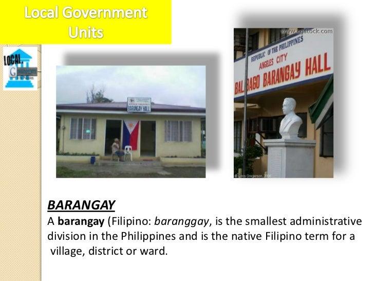 MUNICIPALITYA municipality (Filipino: bayan; munisipalidad) is a localgovernment unit in the Philippines. Municipalities a...
