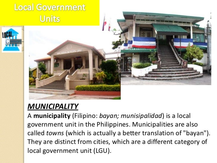 A municipality, upon reaching a certain requirements-minimumpopulation size, and minimum annual revenue-may opt tobecome a...