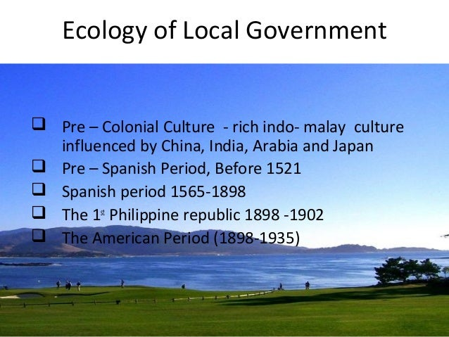 financing philippine local government Required by the land bank of the philippines, a government financial institution, before a loan can be given to a local government unit the bottom-up budgeting program.