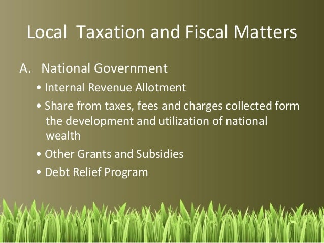 Local Governance In The Philippines