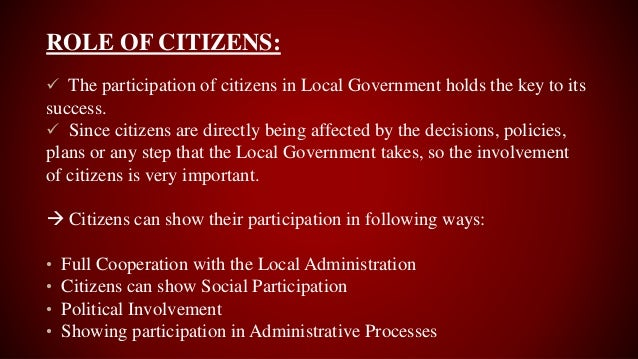 benefits of democratic participation pdf