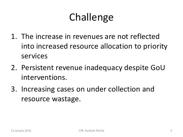 Overview of the Local Government Revenue System