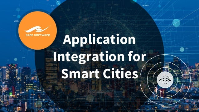 Application Integration for Smart Cities
