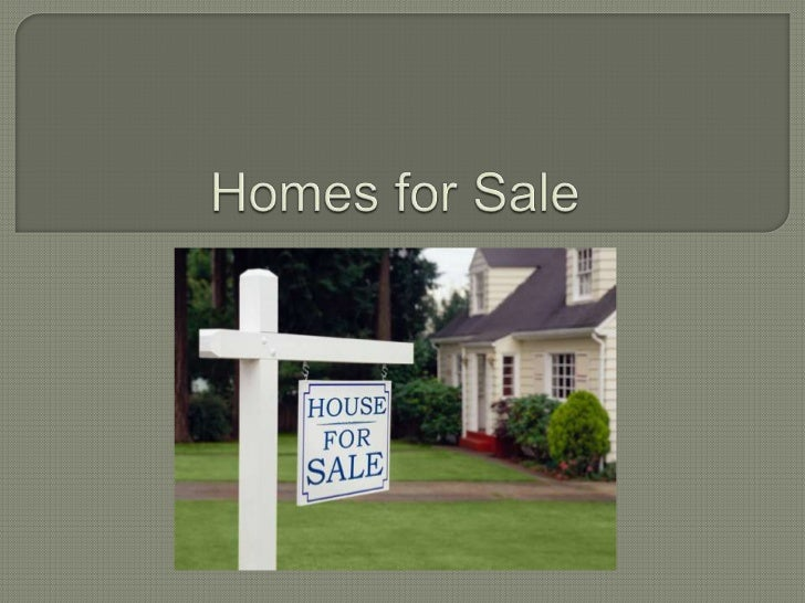 Homes for Sale<br />