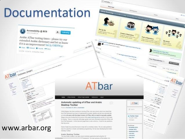 Documentation  www.arbar.org